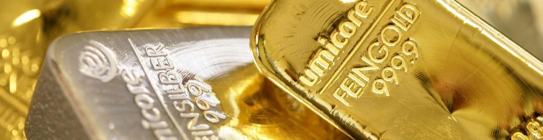 Lingots en or et en argent